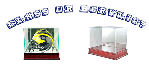 Acrylic vs Glass – What Is The Best Case for Your Sports Memorabilia?