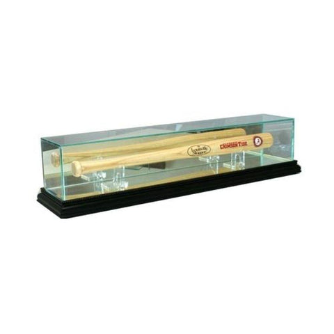 Mini Baseball Bat Glass Display Case