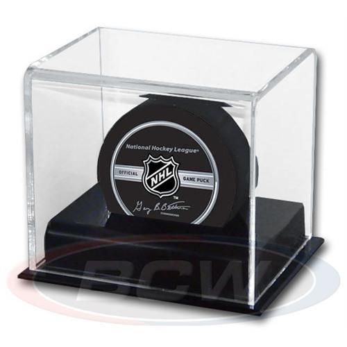 Hockey Puck Display Case Acrylic Base