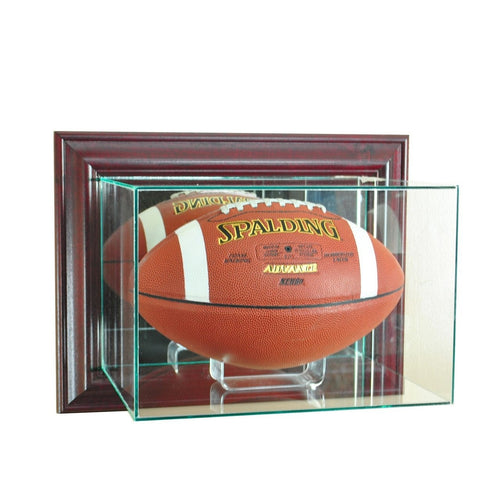 Wall Mounted Football Display Case