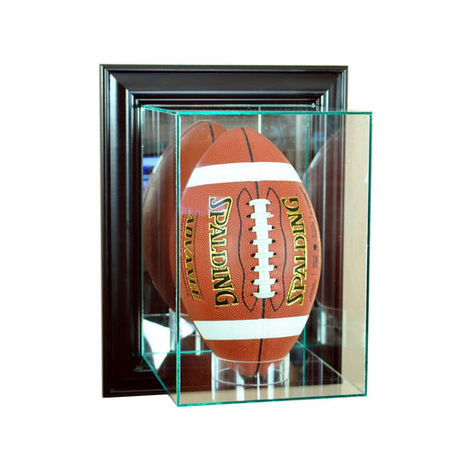 Wall Mounted Football Upright Display Case