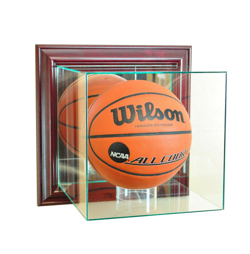 Wall Mounted Basketball Glass Display Case