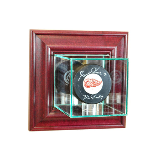 Wall Mounted Hockey Puck Glass Display Case