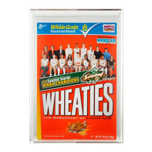 Wheaties Cereal Box Display Holder