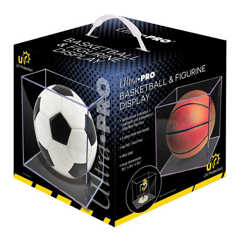 Basketball Clear Square Holder UV Protection by Ultra Pro
