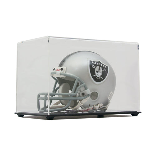 Mini Football Helmet High Clarity Display Case