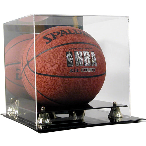 Basketball Premium Display Case with Wall Mount Option