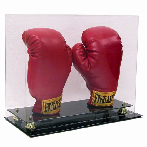Double Boxing Glove Premium Display Case