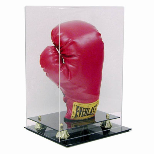 Boxing Glove Premium Display Case With Clear Cover