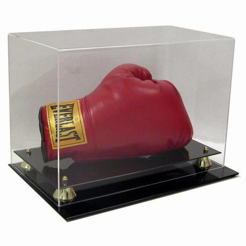 Boxing Glove Horizontal Premium Display Case Saf-T-Gard High Margin