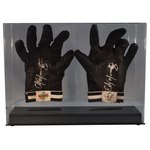 Double Baseball Batting Glove or Football Glove Clear Display Case