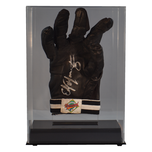 Single Baseball Batting Glove or Football Glove Clear Display Case
