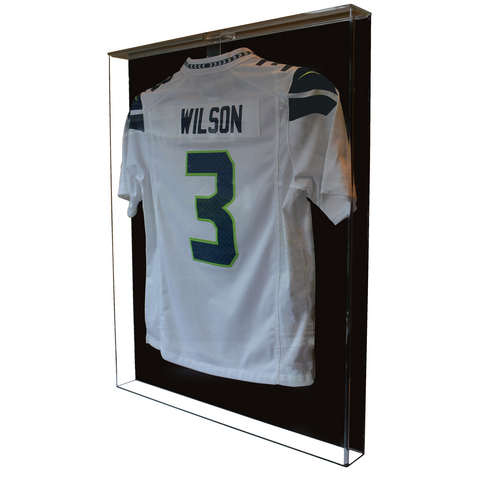 Jersey Display Case Large - Acrylic With High Gloss Black Back