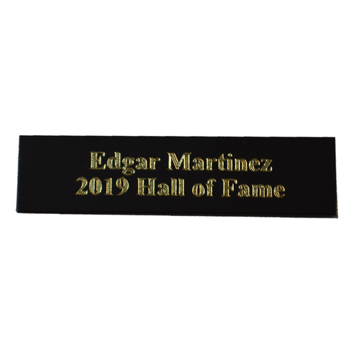 "Name Plate Custom Engraved  2"" x 1/2"""
