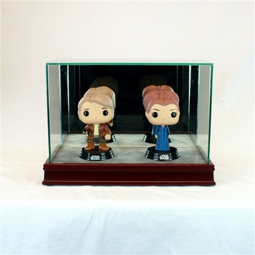 Double Funko Pop Glass Display Case