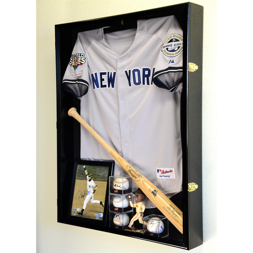 Extra Large Jersey Cabinet Display Case Extra Deep Shadow Box