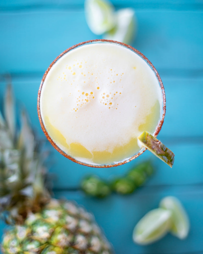 Pineapple Honey Margarita With Organic Honey