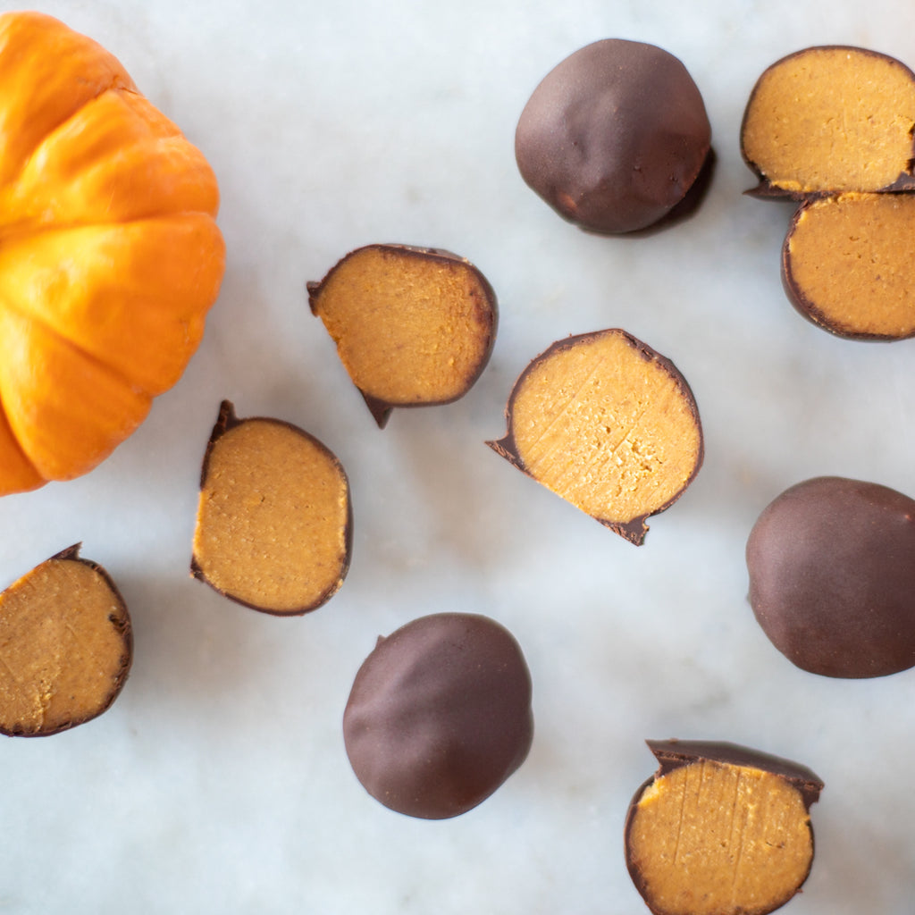 Bee Seasonal Organic Honey Pumpkin Coconut Honey Truffles