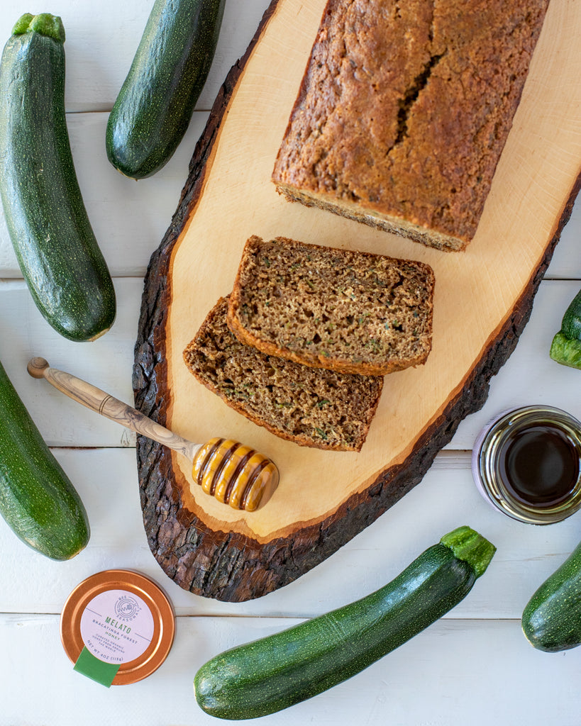 Bee Seasonal Organic Honey Zucchini Bread