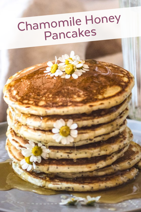 Chamomile Honey Pancakes