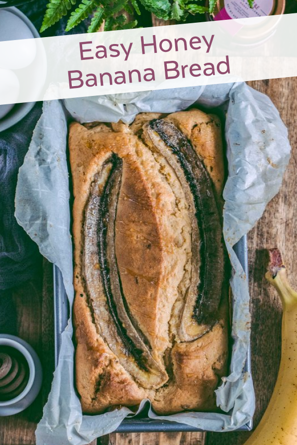 Easy Honey Banana Bread
