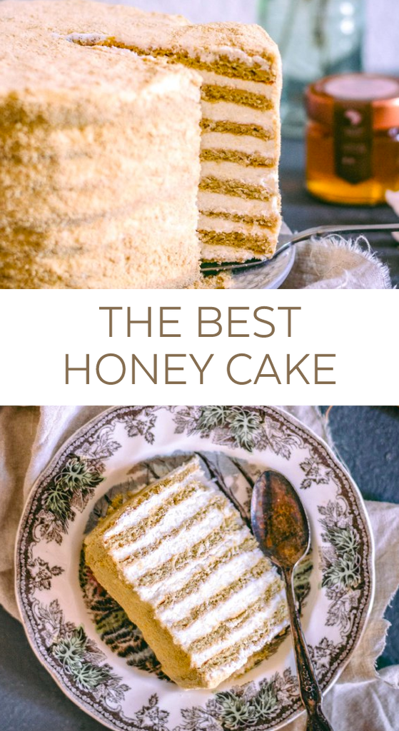 Best Organic Honey Cake