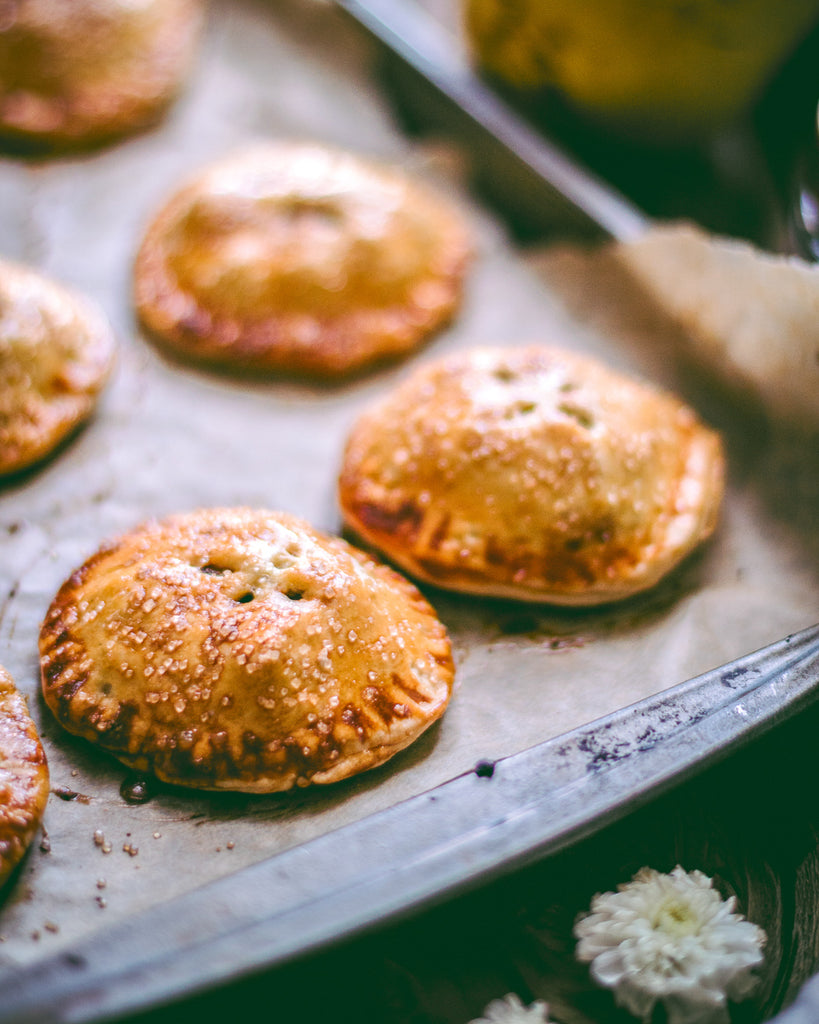 Pear Hand Pies with Organic Honey