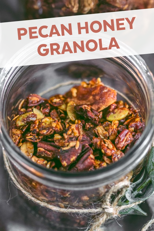 Pecan Honey Granola