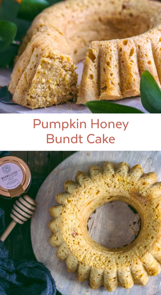 Pumpkin Honey Bundt Cake