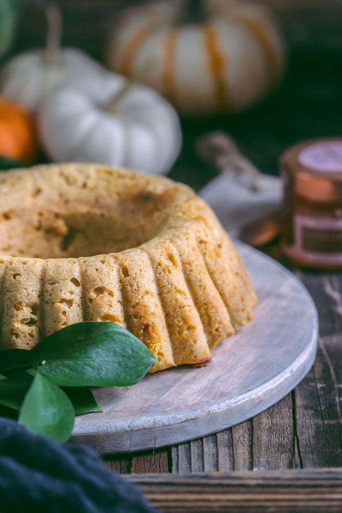 Pumpkin Organic Honey Bundt Cake
