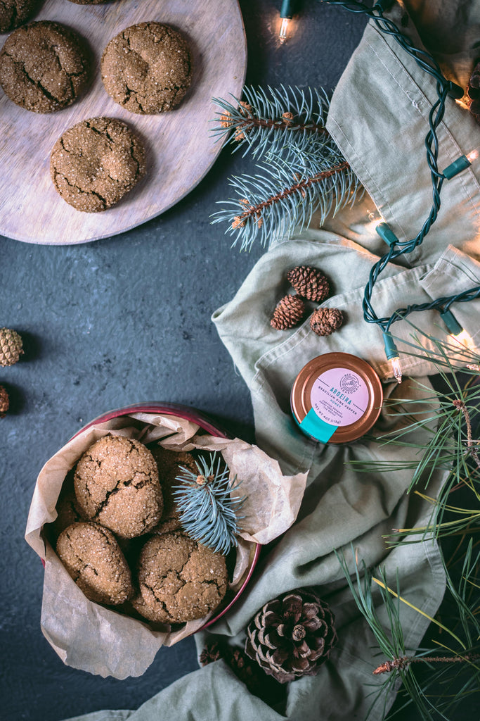Organic Honey Gingersnaps