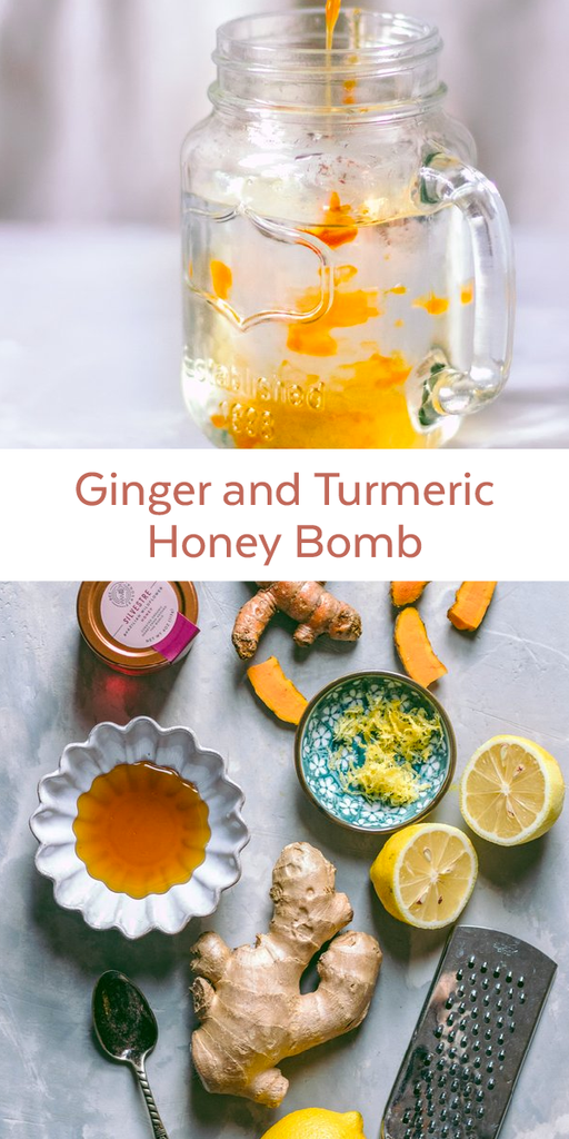 Ginger and Turmeric Honey Bomb