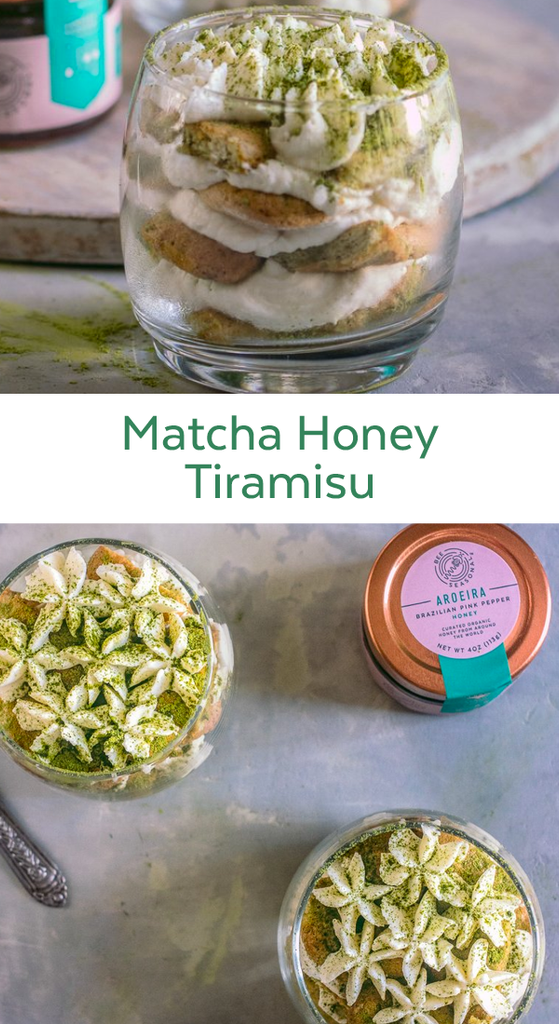 Matcha Honey Tiramisu