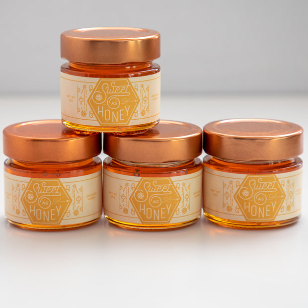 Online Shop for Honey Favors  - Sweet As Honey - 24 Jars - Buy Bee Seasonal