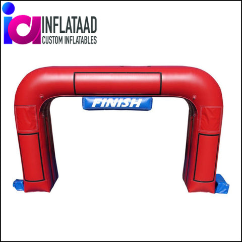 20 Ft Inflatable Red Arch - Inflataad