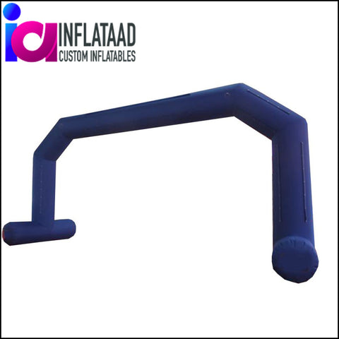 25 Ft Inflatable  Blue Arch - Inflataad