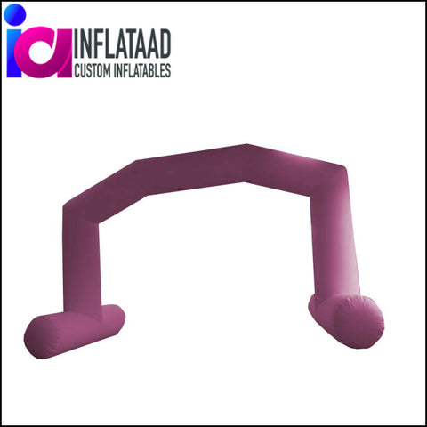 28 Ft  Inflatable Pink Arch - Inflataad