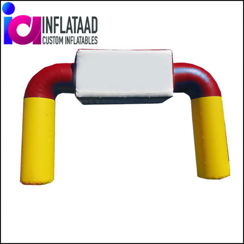 15 Ft Inflatable Yellow & Red - Inflataad