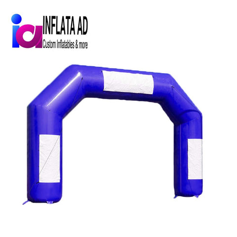 15Ft Inflatable Arch Blue - Inflataad