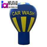 15Ft Inflatable Hot Air Balloon Car Wash - Inflataad