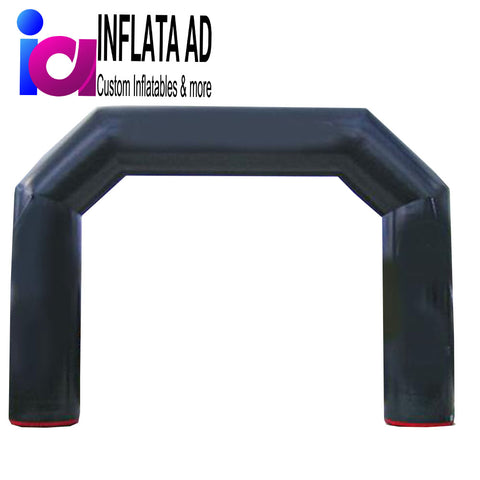 18ft Inflatable Arch (black) - Inflataad