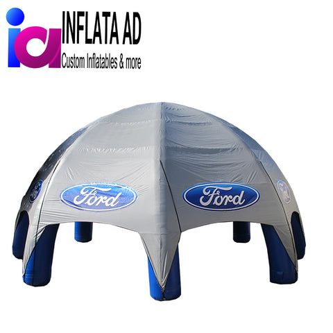 Inflatable Spider Tent (Gray) - Inflataad