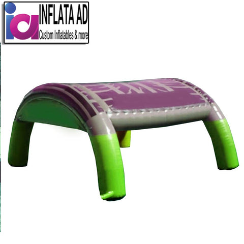 Inflatable Tent (Green/Purple) - Inflataad