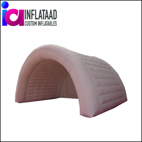 15Ft Inflatable White Tunnel - Inflataad