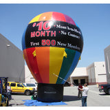 30Ft Hot Air Balloon - Inflataad