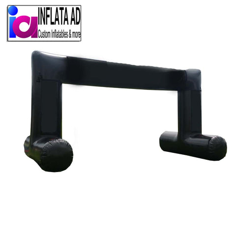22Ft Inflatable Black Arch - Inflataad