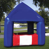 Inflatable House Blue Tent - Inflataad