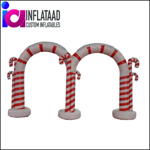 18 Ft Inflatable Holiday Arch - Inflataad