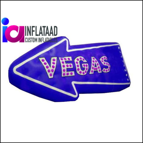 8 Ft  Inflatable logo Vegas - Inflataad