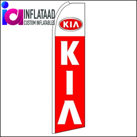 Kia - Advertising Feather Flag Banner - Inflataad